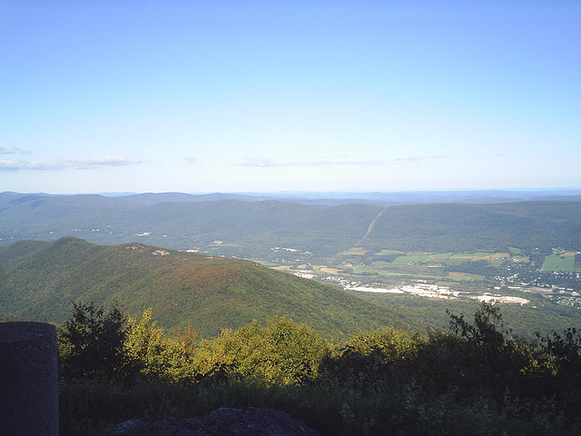 The first from Mount Greylock